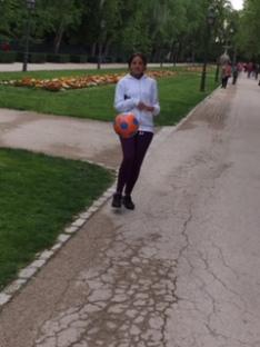 Entrenando en el Parque el Retiro_Madrid_RunSoleRun_Geneva Marathon