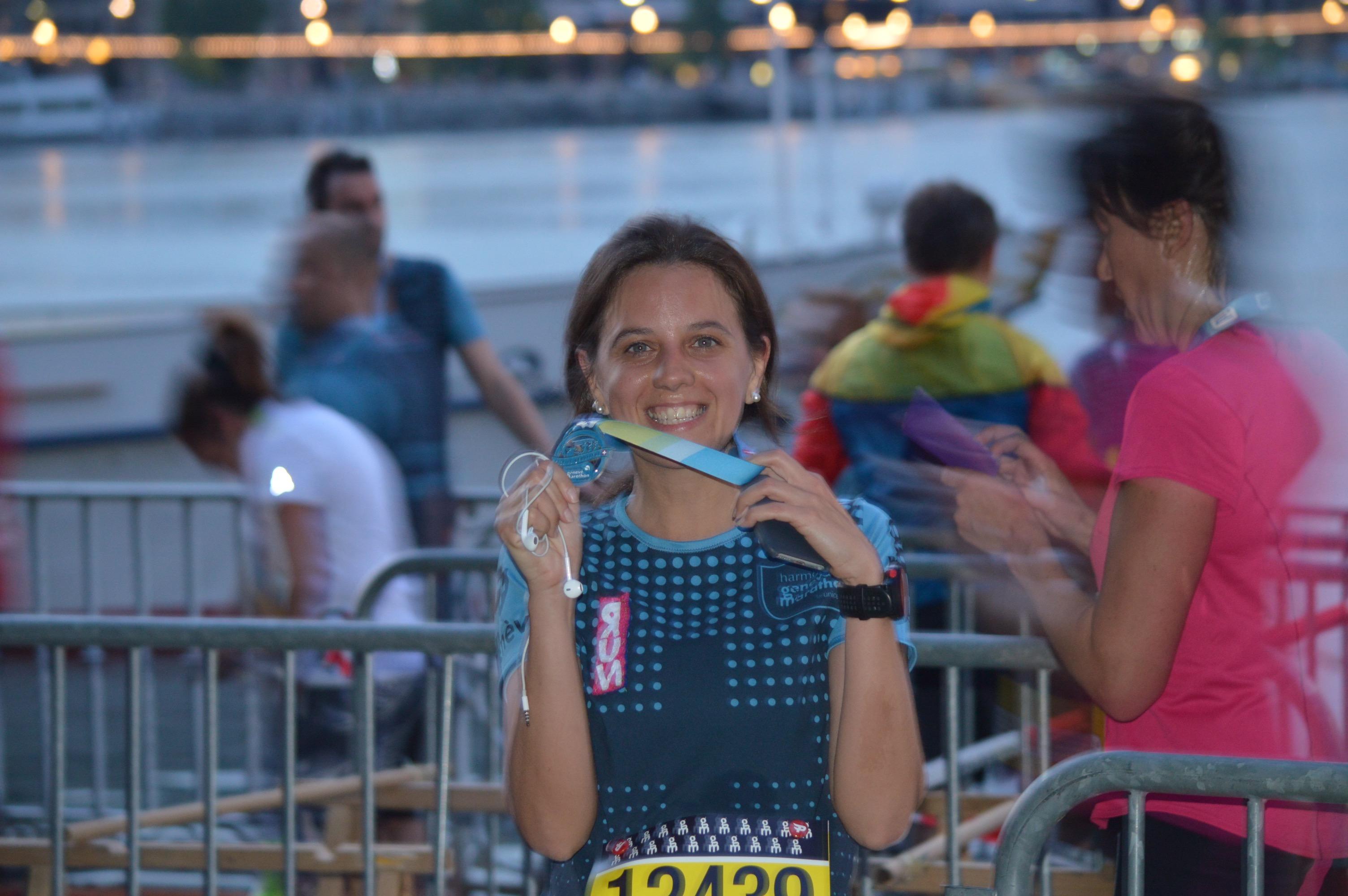 Chau París Marathon. HOLA Geneve Marathon for UNICEF.