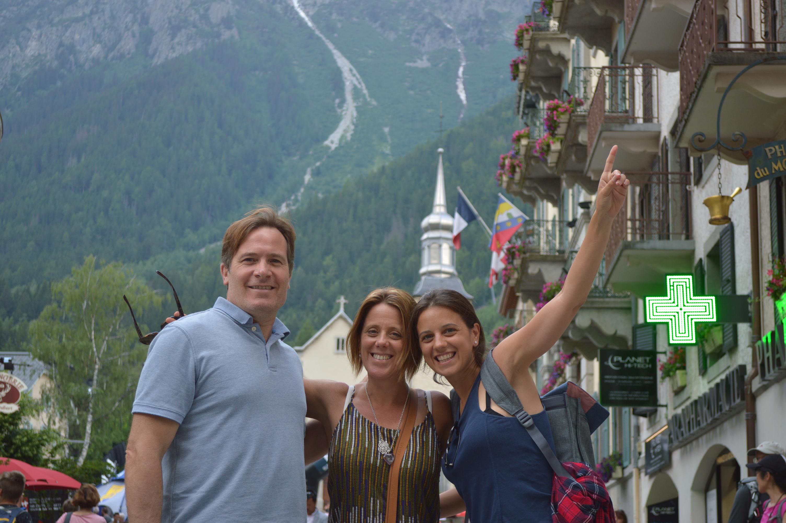 Mont Blanc ya no te tengo miedo! Parte 1 – Llegada de Nati